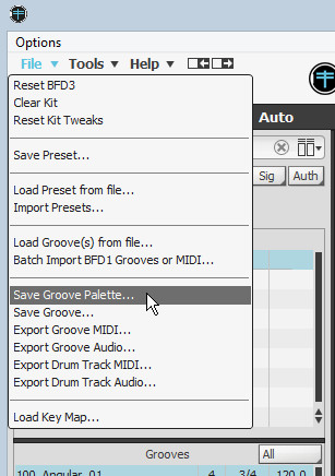 Creating BFD Palettes for 3rd Party Loop Libraries | Cakewalk Forums